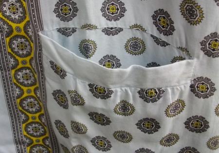 ハワイ ヴィンテージアロハシャツ 胸ポケット