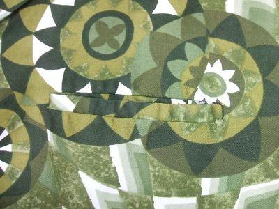 ハワイ ヴィンテージアロハシャツ 胸ポケット特徴