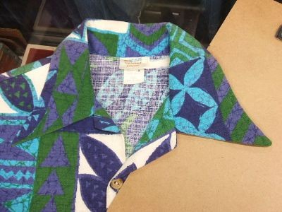 ハワイ ヴィンテージアロハシャツ 70年代襟