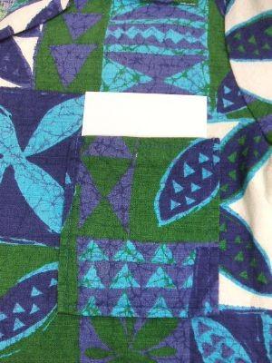 ハワイ ヴィンテージアロハシャツ 70年代胸ポケット特徴