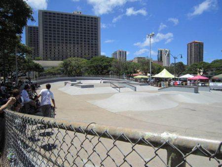 ハワイ スケートパーク アアラパーク