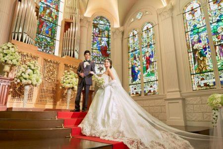 ハワイ ウェディングドレス 教会チャペル
