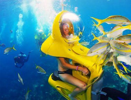 ハワイ マリンスポーツマリン 水中スクーター