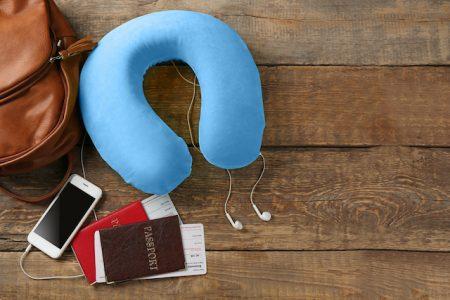 ハワイ 機内で便利な持ち物 エア枕