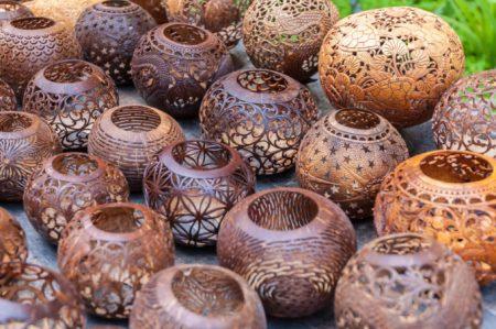 バリ島 お土産 木彫りの雑貨