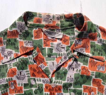 ハワイ ヴィンテージアロハシャツアロハシャツ 襟