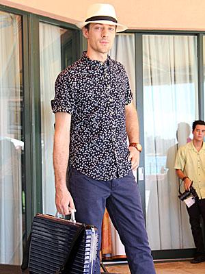ハワイ 観光ファッション 男性