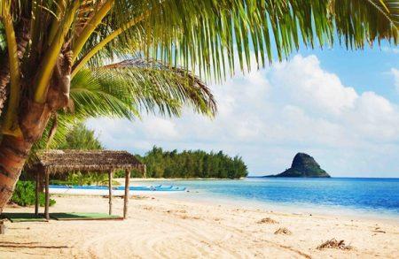 ハワイ クアロアランチアクティビティ シークレットアイランド