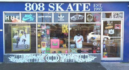 ハワイ スケートボードショップ 808 Skate