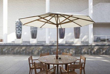 ハワイ ホノルル美術館 ホノルル・ミュージアム・オブ・アート・カフェ