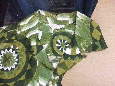 ハワイ ヴィンテージアロハシャツ 60年代襟