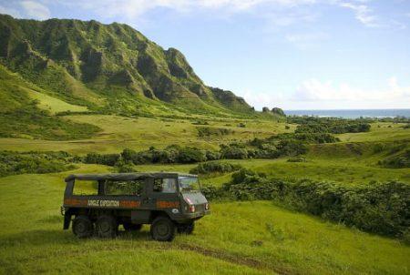ハワイ オアフ島 クアロアランチ