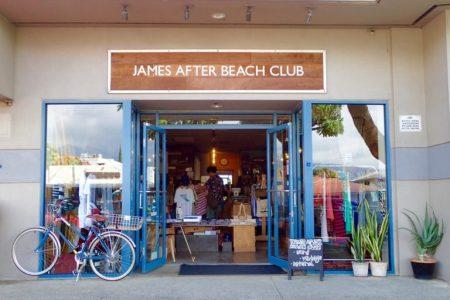 ハワイ セレクトショップ JAMES AFTER BEACH CLUB