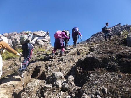 バリ島 アグン山 登山