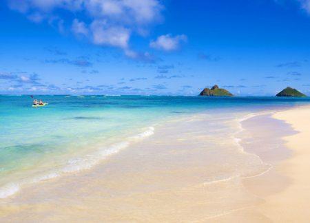 ハワイ オアフ島 カイルアラニカイビーチ