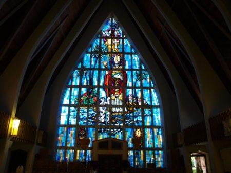 ハワイ 隠れ名所 セント・オーガスティン教会