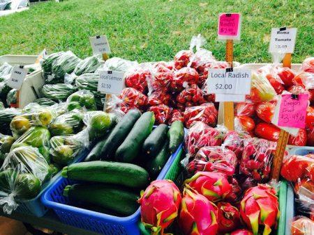 ハワイ HFBF Farmers' Market 魅力
