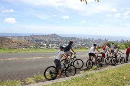 ハワイ アクティビティ サイクリング