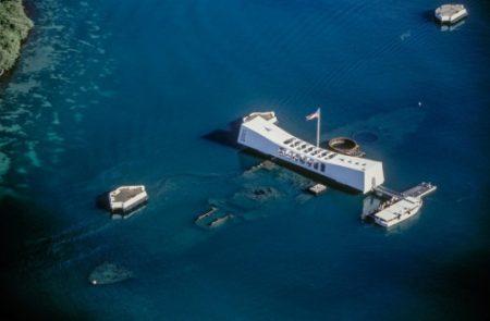 ハワイ オアフ島 アリゾナ記念館