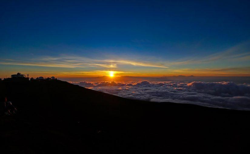 ハワイ ハレアカラ国立公園 マウイ島