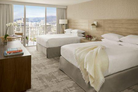 ハワイ アロヒラニリゾートワイキキビーチホテル パーシャルオーシャンビュー