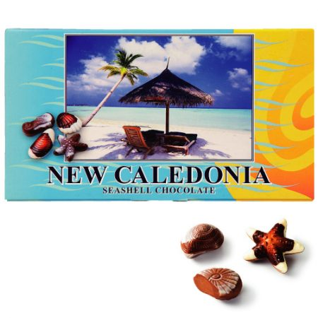 ニューカレドニア おみやげ シーシェルチョコレート