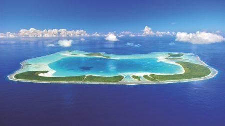 タヒチ ホテル テティアレア島