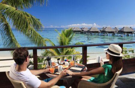 タヒチ 新婚旅行モーレア島 ヒルトンモーレアラグーン