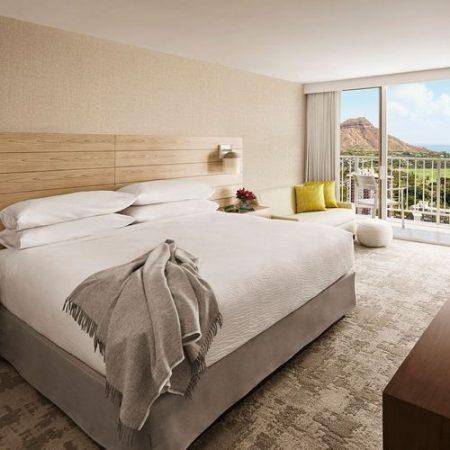 ハワイ アロヒラニリゾートワイキキビーチホテル ダイヤモンドヘッドオーシャンビュー