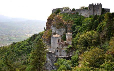 シチリア 観光 エリチェ