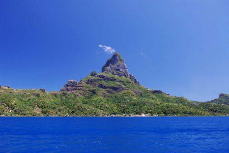 タヒチ ボラボラ島 オテマヌ