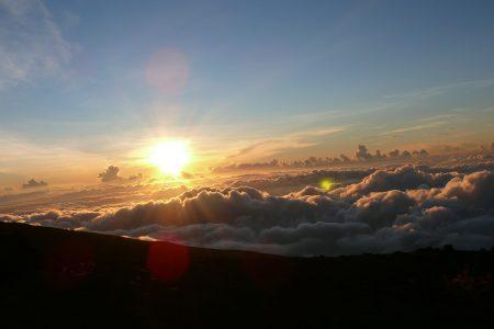 ハワイ パワースポット ハレアカラ山