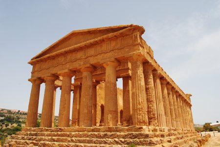 シチリア 観光 世界遺産コンコルディア神殿