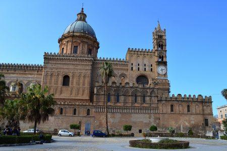 シチリア 観光 パレルモ大聖堂