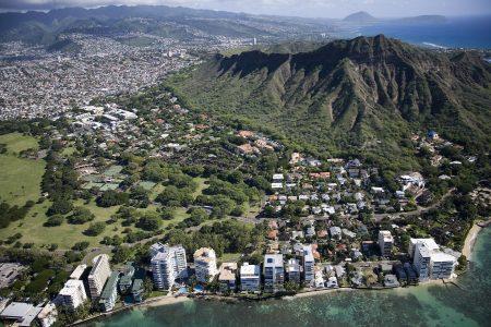 ハワイ パワースポット ダイヤモンドヘッドパワー
