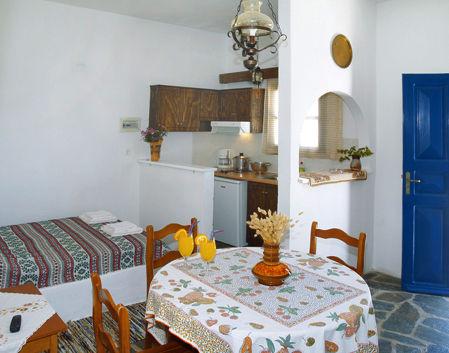 サントリーニ島 ホテル キッチン