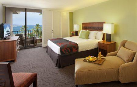 キングカメハメハズホテルの室内