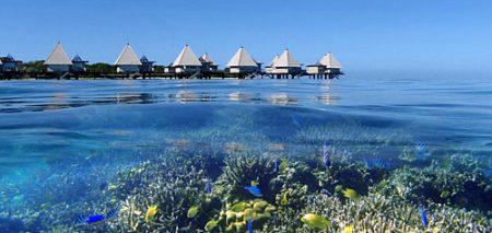 ニューカレドニア 水上コテージ 楽しみ方