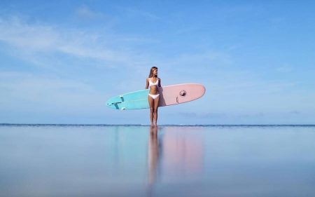プアラニハワイのボーイッシュ水着
