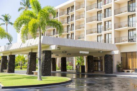 キングカメハメズコナビーチホテルの外観