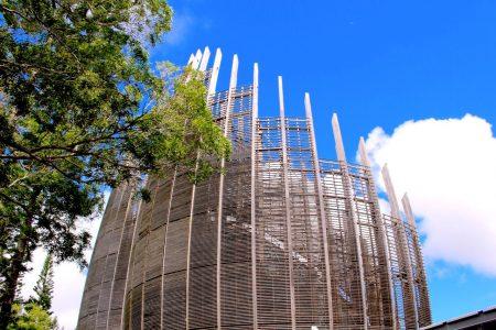 ニューカレドニア ヌメア チバウ文化センター