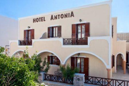 サントリーニ島 ホテル アントニア