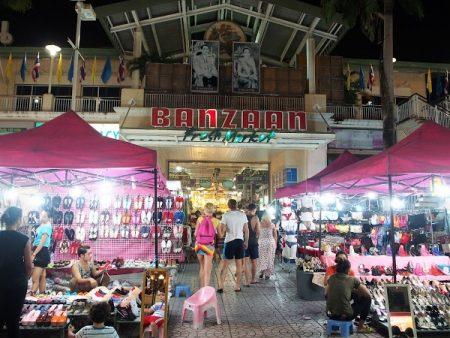 プーケット パトンビーチ バンザーン市場