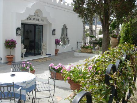 イタリア カプリ島 ホテル