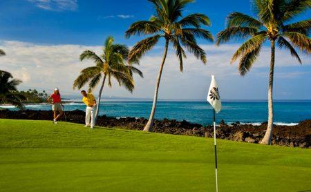 ハワイ ヒルトンワイコロアビレッジ ゴルフ