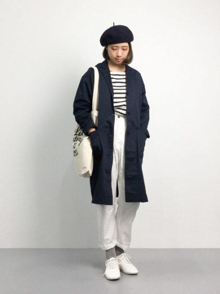 アパレル 秋ファッション ガレージコート
