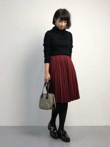 アパレル 秋ファッション ローファー