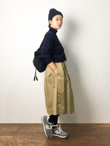アパレル 秋ファッション ニューバランス