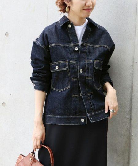 アパレル 秋ファッション デニムジャケット