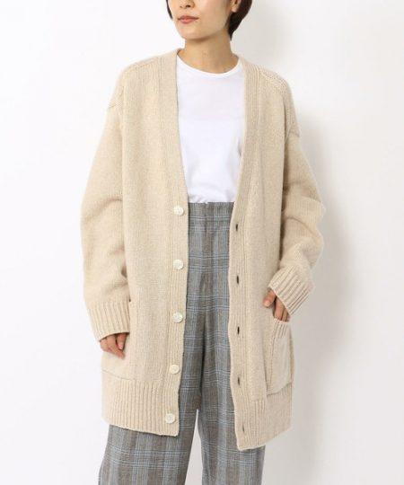 アパレル 秋ファッション ロングカーディガン